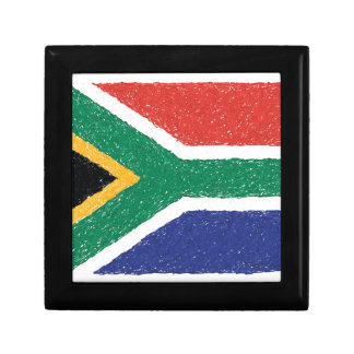 South Africa Flag Theme Gift Box