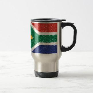 South Africa Flag Theme Stainless Steel Travel Mug