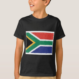 South Africa Flag Theme T-Shirt