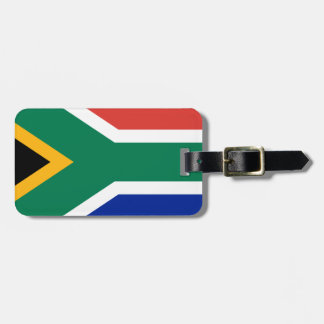 South Africa Flag -  Vlag van Suid-Afrika Luggage Tag