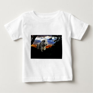 South Africa Lion in the Jungle Baby T-Shirt