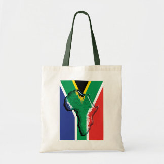 South Africa RSA African flag Tote Bags