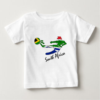 South Africa Soccer Player Baby T-Shirt
