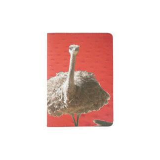 South African Ostrich Passport Holder
