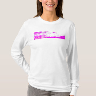 South Butte Pink on Pink White Hoodie
