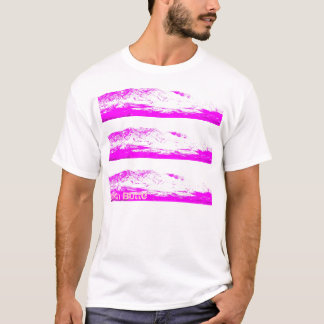 South Butte Triple Peak Pink on Pink T-Shirt