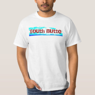 South Butte White, Red, and Blue T T-Shirt