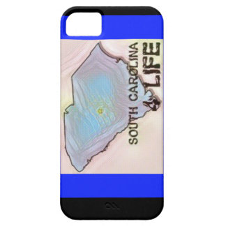 """South Carolina 4 Life"" State Map Pride Design Case For The iPhone 5"