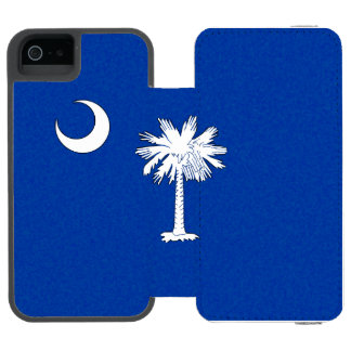 SOUTH CAROLINA FLAG INCIPIO WATSON™ iPhone 5 WALLET CASE