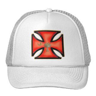 South Carolina Iron Cross Orange Cap