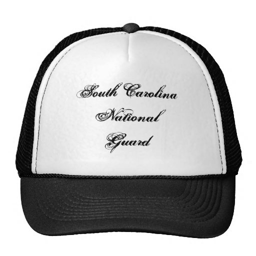 South Carolina National Guard Hat