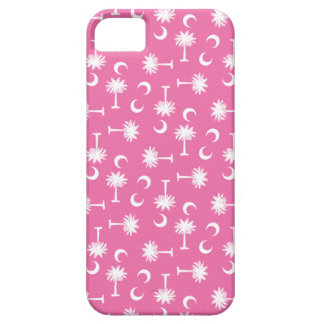 South Carolina Palmetto Moon Flag Pink Barely There iPhone 5 Case