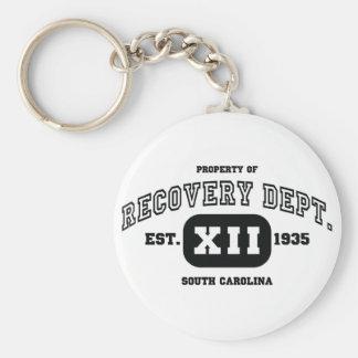 SOUTH CAROLINA Recovery Basic Round Button Key Ring