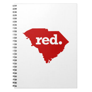 SOUTH CAROLINA RED STATE NOTEBOOK