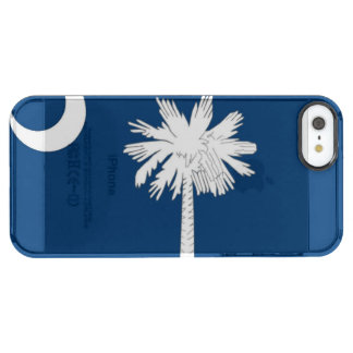 South Carolina State flag Clear iPhone SE/5/5s Case