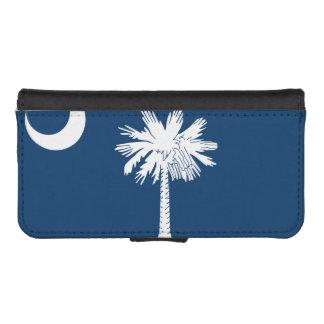 South Carolina State Flag iPhone SE/5/5s Wallet Case