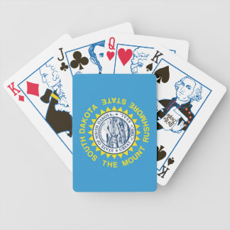 South Dakota 1889 State Flag Playing Cards