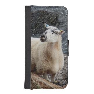 South Devon Coast Sheep On Rocks Looking iPhone SE/5/5s Wallet Case
