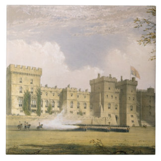 South East View of Windsor Castle, from 'Windsor a Tile