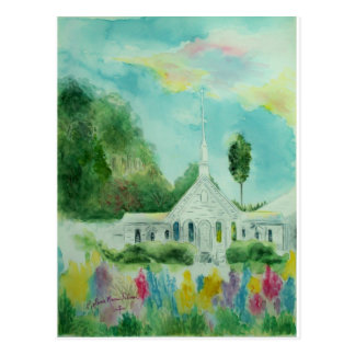 South Georgia Country Church Watercolor Postcards