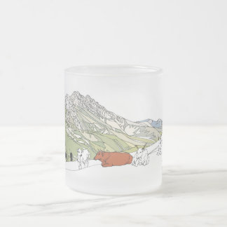 South Italy theme Frosted Mug