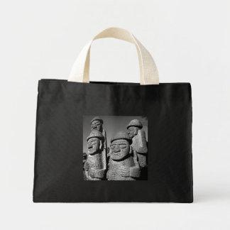 South Korean Grandfather Harubang Statue Tote Bags