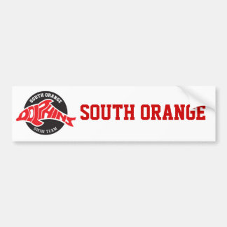 South Orange Dolphins Bumper Sticker