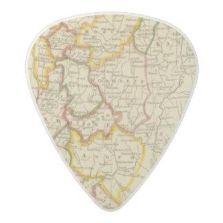 South Russia in Europe Acetal Guitar Pick