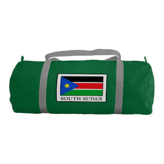 South Sudan Gym Duffel Bag