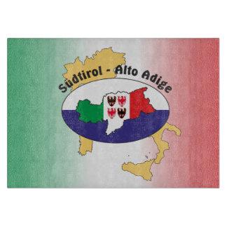 South Tyrol - Alto Adige - Italy - Italia glass Cutting Board