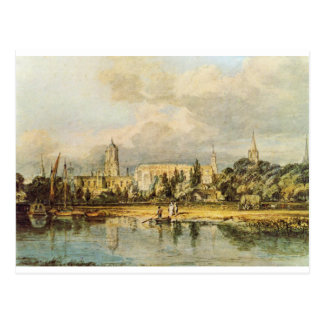 South View of Christ Church, from the Meadows Postcard