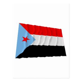 South Yemen Waving Flag (1967-1990) Postcard