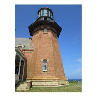 Southeast Lighthouse Tower Block Island Postcard