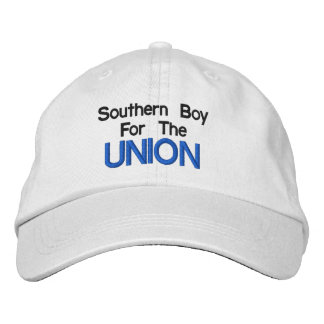 Southern Boy For The Union Hat Embroidered Baseball Cap