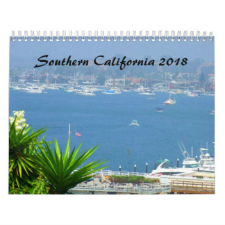 Southern California SOCAL 2018 Calendar