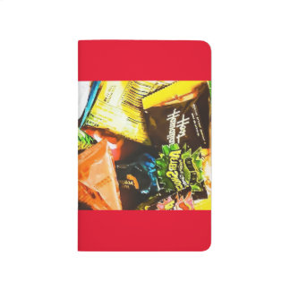 Southern colorful package photo note red journals