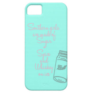 Southern Girls Phone Case-Aqua and Coral Pink iPhone 5 Covers