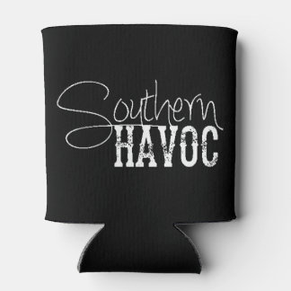 Southern Havoc Black Can Cooler