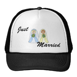Southern Lesbian Wedding Trucker Hat