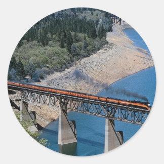 Southern Pacific No. 4449 at Shasta Lake, Californ Stickers
