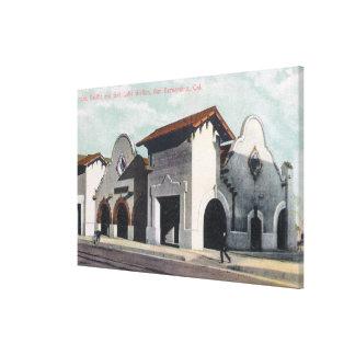 Southern Pacific & Salt Lake Station Canvas Print