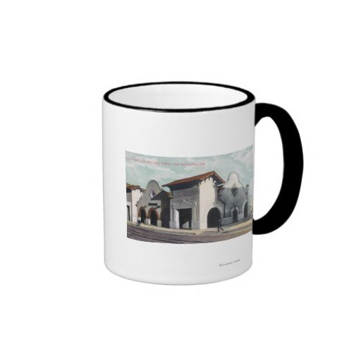 Southern Pacific & Salt Lake Station Coffee Mugs