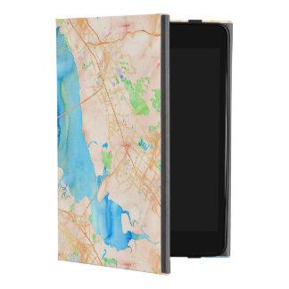 Southern San Francisco Bay Watercolor Map iPad Mini 4 Case