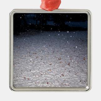 Southern Snow Christmas Ornament