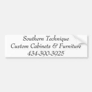 Southern Technique 390-3925 Bumper Sticker