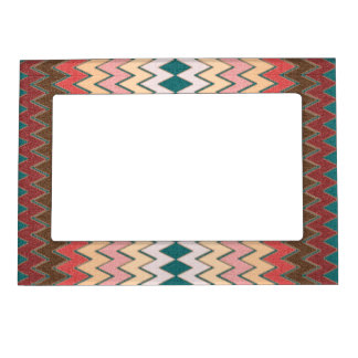 Southwest Chevron Zigzag Magnetic Photo Frame