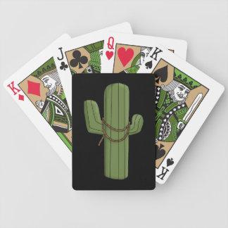 Southwest Desert Saguaro - Western Bicycle Playing Cards