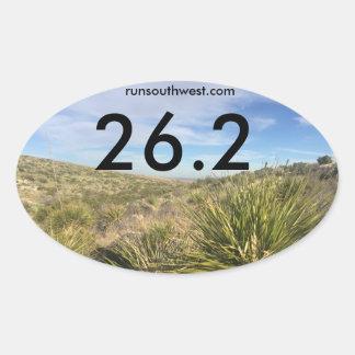 Southwest marathon Participant Sticker