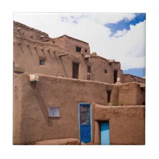 Southwest Taos Adobe Pueblo House New Mexico Tile