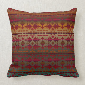 Southwestern Beauty | Tribal Ombre Style Cushion